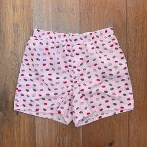 Small Light Pink Unisex Donut Boxers